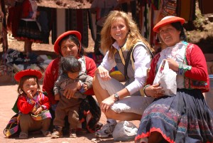 Bonnie Hinschberger - Broad Escapes Founder in Peru